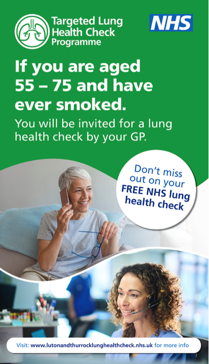 Have you been invited for a Lung health check?