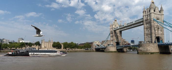 Glide from Gravesend and Tilbury into central London by boat this summer