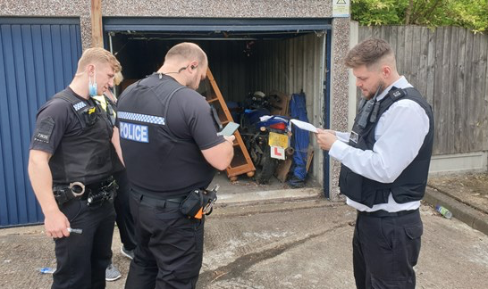 Thurrock Council and Essex Police target nuisance bikes