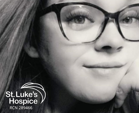 Family shares Becca's story and encourages others to support St. Luke's Hospice with a donation this summer