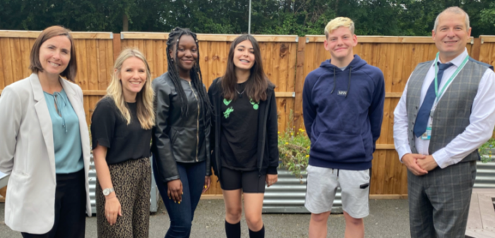 Ortu Gable Hall students celebrate incredible GCSE results