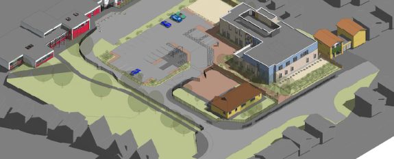 Corringham: People working in new medical centre will be expected to leave cars at home