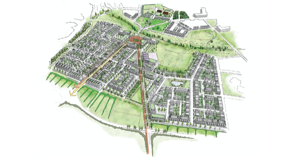 Over the Border: Bid submitted for 3,700 home garden village