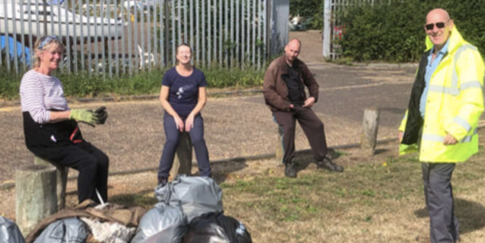 Litter pickers will be back on the riverbank