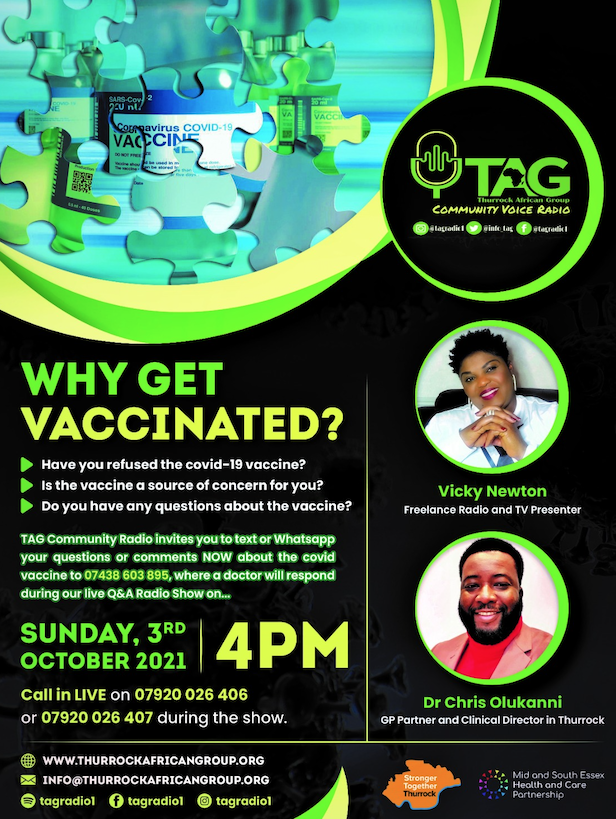 Thurrock African Group: Why Get Vaccinated?