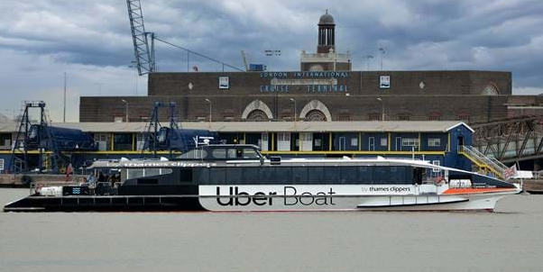 Uber Boat set to sail from Tilbury