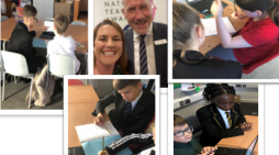 Education collaboration reaches new heights as Gateway Academy students lead  teaching programme