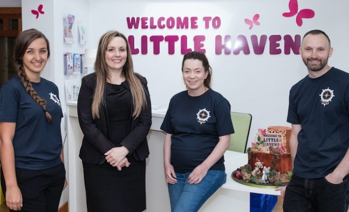 Amazon make kind donation to Little Havens Hospice