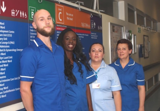 Theatre group make a drama in anti-violence campaign at Basildon Hospital