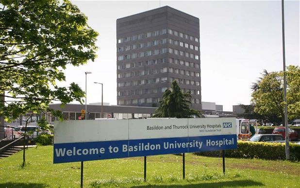 Covid-19: Five patients confirmed to have sadly died at Basildon and Thurrock University Hospitals in 24 hours
