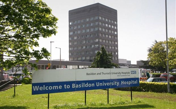 Ten patients die with coronavirus at Basildon hospital in 24 hours – total now 169