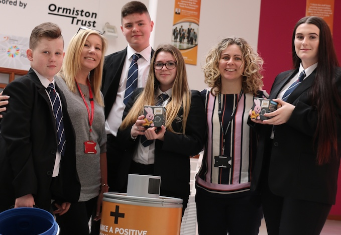 Gateway Academy students go on Big Battery Hunt