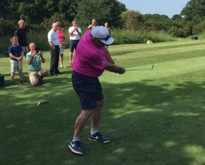 "Orsett Golf Club host charity match between Sir Ian ""Beefy"" Botham and Andrew ""Beef"" Johnson"
