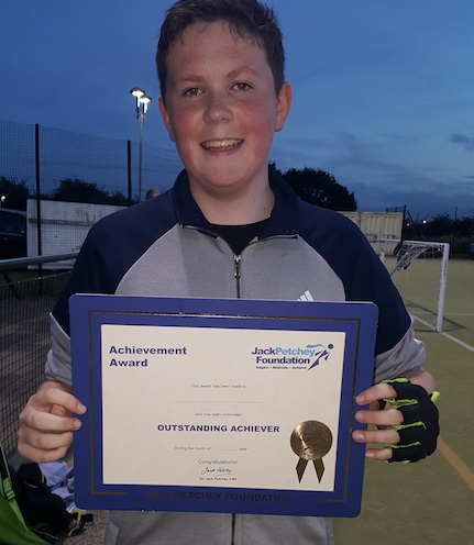 Hockey: Ben is latest recipient of Jack Petchey Award
