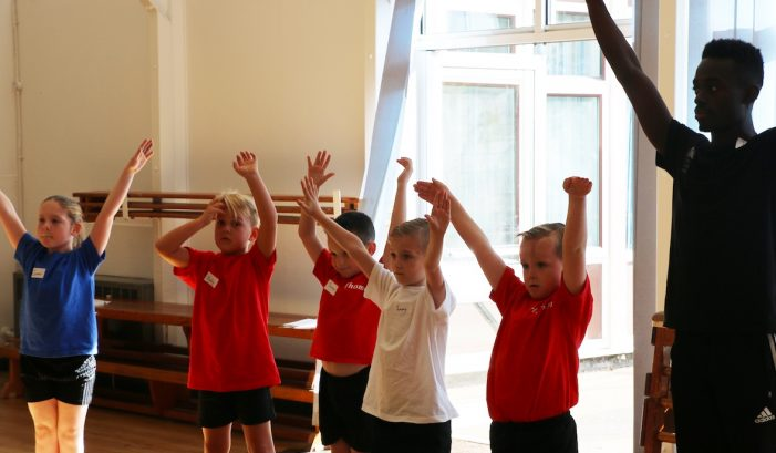 Herringham Primary pupils get their chance to dance