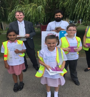 Woodside Academy breathe life into Clean Air Day