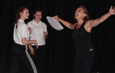 Commedia characters take over Royal Opera House Thurrock Trailblazer school, Ormiston Park Academy