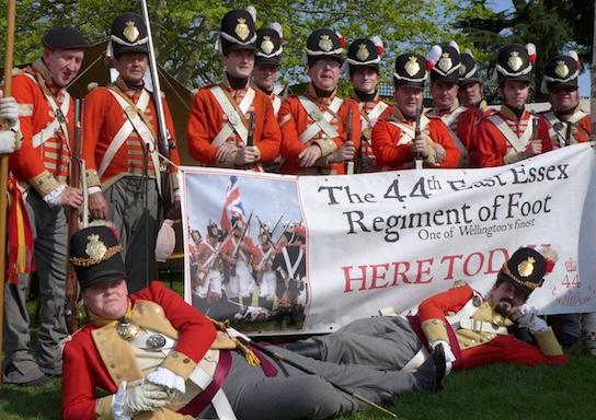 The Soldiers of Vanity Fair at Tilbury Fort