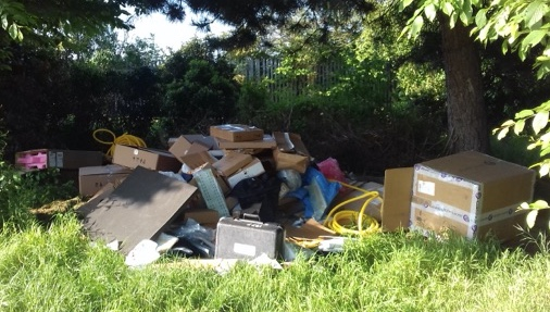 Thurrock Council to make public CCTV footage of fly tipping