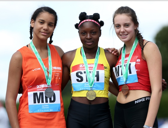Athletics: Thurrock's Funminiyi impresses at National School Games