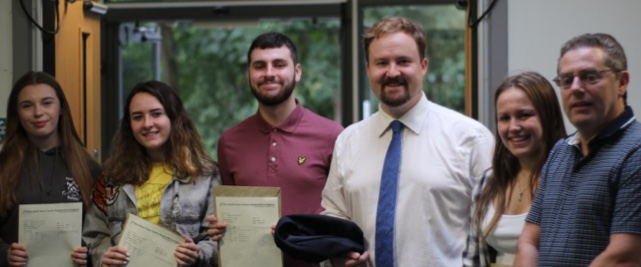 Ortu Sixth Form celebrate A Level results