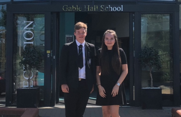 Gable Hall name new head boy and girl