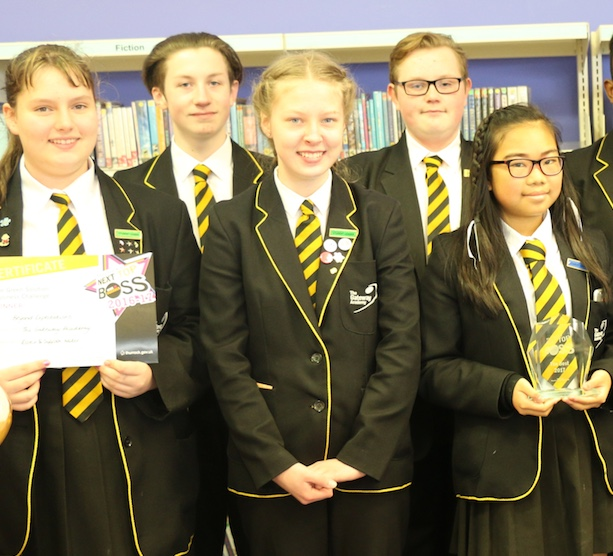 Gateway Academy students go green for Thurrock's Next Top Boss