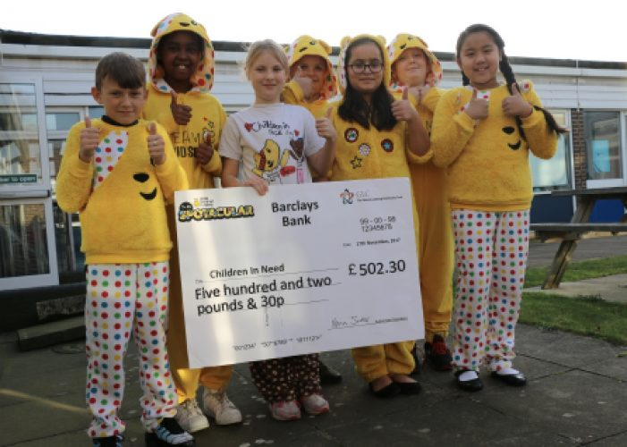 Gateway Learning Community raise over £1200 for Children in Need