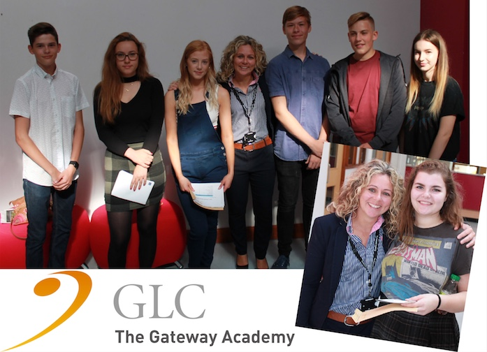 Gateway Academy celebrate GCSE success