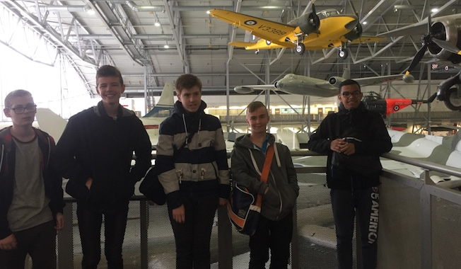 Those magnificent Gateway academy students in their flying machines!