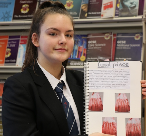 Gateway Academy student Katie praised in Royal Opera House competition