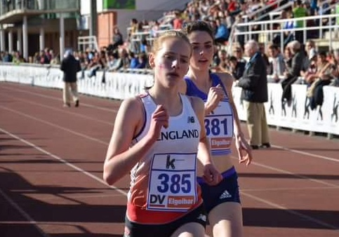 Athletics: Thurrock's Gemma hits the heights at Parliament Hill