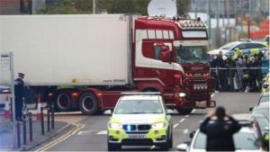 The bodies were discovered in the lorry in the early hours of 23 October 2019