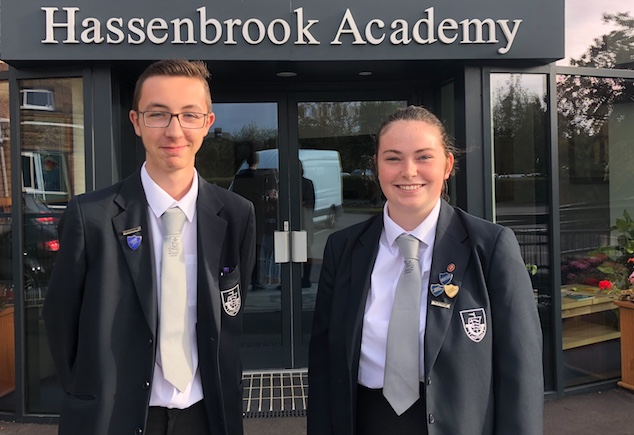 "Hassenbrook Open Evening ""busiest ever"" as head boy and girl lead the way"