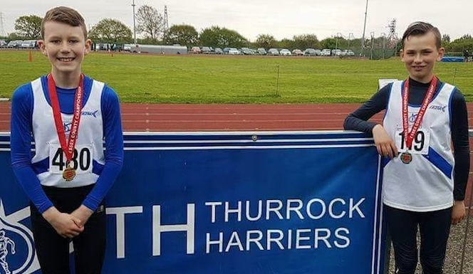 Athletics: Medals galore for Thurrock Harriers at Essex Combined Champs