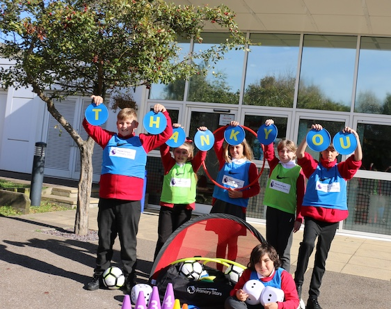 Herringham Primary awarded Premier League kit