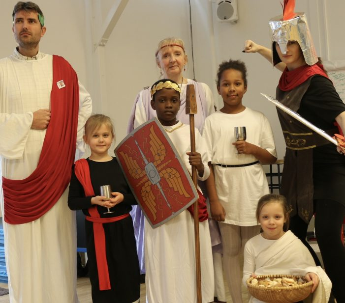 Friends, Romans, Countryman come to Herringham Primary