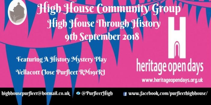 High House Community Group History Day in Purfleet
