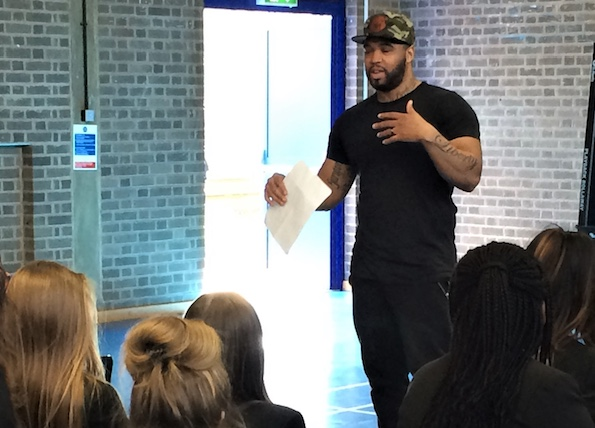 Hathaway Academy host Hip Hop Workshops with Royal Opera House Traiblazers