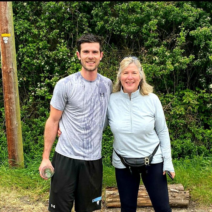 Man smashes fundraising target after running his own marathon around Thurrock roads
