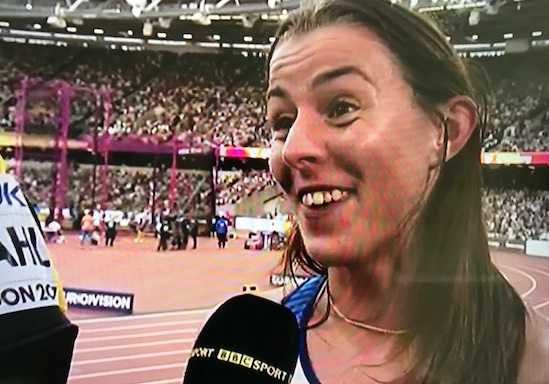 Athletics: Great run by Jess Judd in World Champs