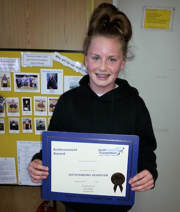 Hockey: Jessica earns her Jack Petchey award