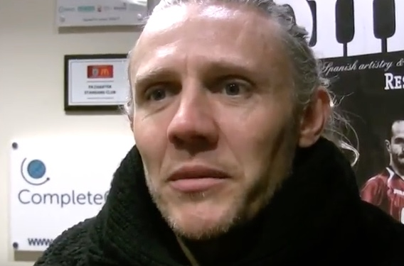 Jimmy Bullard and helping young journalists…