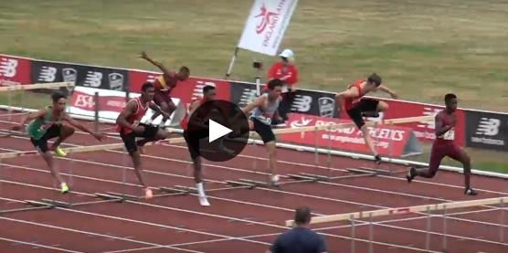 Athletics: St Clere's Joseph wins English Schools hurdle champs
