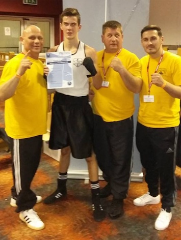 Boxing: Chadwell's Kieran through to national champs