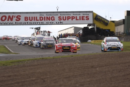 Motor Sport: Top ten showing for AmD Tuning at Knockhill