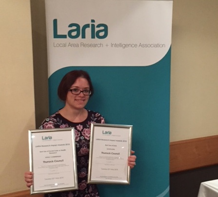Thurrock Council recognised for health and social care research