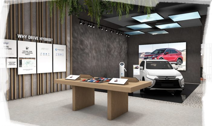 Mitsubishi Motors open its first-ever retail store at intu Lakeside