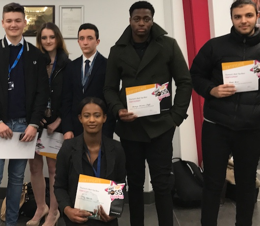 Palmer's College students shine at Next Top Boss Awards