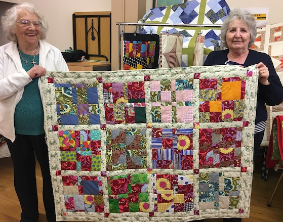 Port of Tilbury give help to local needlework group